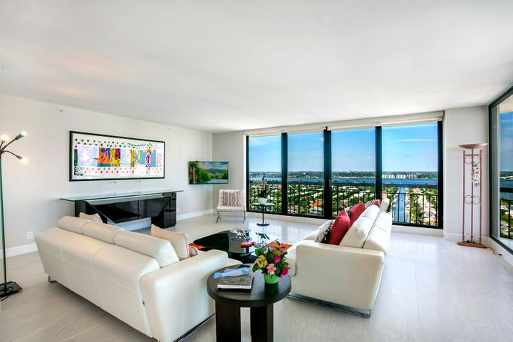 Imagine buying a beautifully renovated condo, with floor to ceiling impact glass, beautiful porcelain tile throughout including balconies. top of the line appliances, quartz countertops, whisper close cabinets, chef's kitchen open to the living area. Bathrooms with walk in showers, tiled in soft white and grey tones. Imagine a master bedroom with private den/office with ample storage and cabinets. Imagine living where the birds fly at eye level with sunsets and ocean views. Enjoy a private on-site restaurant with take out, pool side service, tennis courts, fitness center and two pools just steps from the ocean. It is all here at Martinique - come enjoy the lifestyle.