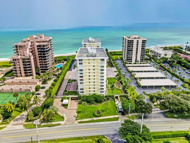 METICULOUSLY MAINTAINED OCEANFRONT CONDO IN THE SOUGHT AFTER JUNO BEACH COMMUNITY OF BRIGADOON. AT 1,760 SQUARE FEET THIS SPACIOUS SPLIT FLOOR PLAN GIVES YOU PLENTY OF ROOM TO ENTERTAIN GUESTS AND OFFERS YOU SOME OF THE BEST VALUE ON THE BEACH. THE CONDO FEATURES AN UPDATED MASTER BATHROOM WITH AN ESPRESSO VANITY, MARBLE COUNTERTOP, DUAL SINKS AND A FRAMELESS, WALK IN SHOWER.  THE EAT IN KITCHEN HAS WHITE CABINETS, GRANITE COUNTERTOPS AND ACCESS TO THE BALCONY WHERE YOU CAN ENJOY THE OCEAN VIEWS AND BREEZES.  BOTH BEDROOMS ARE VERY SPACIOUS, HAVE LARGE WALK IN CLOSETS AND IMPACT WINDOWS.  BRIGADOON OFFERS A BEACH FRONT POOL, PRIVATE BEACH ACCESS, UPDATED LOBBIES AND SOCIAL ROOMS, FITNESS CENTER AND UNDERGROUND PARKING. SOME OF SOUTH FLORIDA'S BEST SHOPPING AND DINING ARE ONLY MINUTES AWAY AND YOU ARE 25 MINUTES TO PBIA.  WHETHER YOU ARE LOOKING FOR A WINTER GETAWAY SPOT OR YOU ARE LOOKING TO SPEND THE ENTIRE YEAR IN SOUTH FLORIDA, BRIGADOON IS A GREAT SPOT TO DO IT.