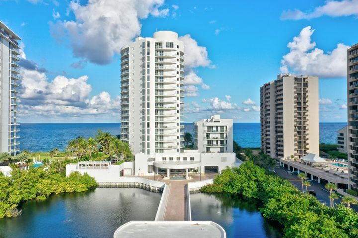 Beautifully redecorated condo in Beachfront. Large deck overlooks Gorgeous pool and Stunning Direct  Ocean Views.  Ocean views from LR, DR, Kitchen and Master BR.  Back terrace is HUGE  (only  found on 3rd floor units) for gracious open air entertaining.  Views of Intercoastal  and beautiful sunsets from Rear Terrace.  High ceilings and tons of closet space highlight this unit.  Impact glass.3 Full Bedrooms and 3 full baths.  Amenities  include, large workout room, theater room, social room with bar area, wonderful pool with  spa,  and 2  grilling areas.  2  parking  spaces in garage (#303).
