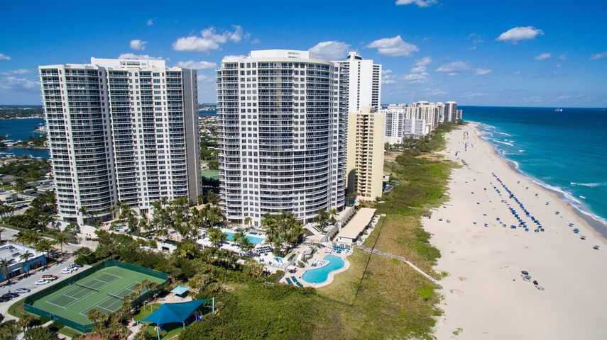 2700 North Ocean #302A. Beautifully decorated - TURNKEY! Fantastic views! Spectacular direct ocean views await you from this 3-bedroom/3.5 bath plus den, gourmet kitchen, family and great room, marble floors throughout. Enjoy island living in this sprawling 3,900+ square foot residence! Professionally decorated, no detail overlooked. Lush fabrics, soft color palette. The Ritz Carlton is comprised of two 27-story towers, which house 242 condominium and resort residences. These gorgeous contemporary buildings are situated on over 8 acres of beach front property with expansive views of the Atlantic Ocean, the Intracoastal Waterway and Palm Beach Island. Private, direct-entry elevators. Ritz Carlton offers numerous amenities... (see supplement for full remarks) Beautifully decorated - TURNKEY! Fantastic views! Spectacular direct ocean views await you from this 3-bedroom/3.5 bath plus den, gourmet kitchen, family and great room, marble floors throughout. Enjoy island living in this sprawling 3,900+ square foot residence! Professionally decorated, no detail overlooked. Lush fabrics, soft color palette, fine quality furnishings. The Ritz Carlton is comprised of two 27-story towers, which house 242 condominium and resort residences. These gorgeous contemporary buildings are situated on over 8 acres of beach front property with expansive views of the Atlantic Ocean, the Intracoastal Waterway and Palm Beach Island. Private, direct-entry elevators. Ritz Carlton offers numerous amenities suitable to permanent residents as well as seasonal residents and vacationers. Units are outfitted with high-end appliances. This unit has been designed and furnished to the utmost standard of class and sophistication.