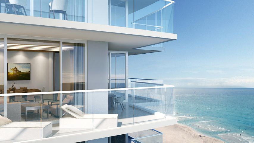 Amazing views from this 15th floor, northeastern oceanfront condo located in the Happiness Tower of the Amrit. Enjoy over 2,000 sq ft of living space including 2 bedrooms, 2.5 baths plus a bonus room. Perfectly suited for entertaining, this floor plan boasts 590 sq ft of outside terrace space with the Atlantic Ocean in direct view.  Amrit offers contemporary coastal living with top-of-the-line amenities and a one-of-a-kind wellness lifestyle in The Palm Beaches. Set to open in the spring, Amrit is a Wellness Resort set on just under 8 acres with over 300' of oceanfront, offering 182 private residences. All residences are move-in ready with Italian porcelain flooring, top-of-the-line Italkraft cabinetry, quartz counter-tops, Wolf and Sub-Zero appliances, high-impact glass, and oversized wraparound balconies. The Resort offers 155 hotel rooms and over 100,000 sq. ft. of wellness amenities, incl. a 56,000 sq ft Wellness Spa with hydro services imported from Sweden. Four food and beverage venues on-site including concierge services. Make Amrit your primary destination for the health and wellness lifestyle that you deserve.