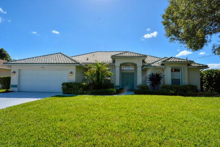 272 NE Surfside Avenue, Port Saint Lucie, FL 34983