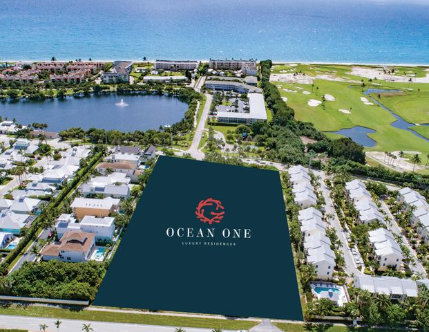 """Nestled humbly in the ocean side town of Juno Beach, Ocean One features 22 contemporary luxury residences starting at $1.8M. Brought to you by the Developers of Azure Palm Beaches, Ocean One's quality is unmatched.  Luxury features include expansive main living areas highlighted with soaring 10' high ceilings, floor to ceiling sliding glass doors open to terrace, balconies and backyard, an abundance of magnificently sized glass windows feature top-rated energy efficiency and Hurricane window glazing. Glass-paneled rails enhance balcony views. Highly-curated designer features and finishes include porcelain tile flooring in living areas, kitchen and baths, stone counter tops and solid core doors throughout with polished chrome hardware/lever handle locksets. All floors are accessed by both stairs and the owner's private elevator. Open and contemporary kitchens feature architectural grade cabinetry, designer appliances, an island workstation with waterfalls and a large walk-in pantry for entertaining in grand fashion.  The gourmet chef will appreciate the gas cooktop and double oven, 42"""" built-refrigerator/freezer, microwave oven, dishwasher and disposal.  The grand master suite opens to glass-railed terrace positioned to welcome the Atlantic's sea breezes. This expansive owner's retreat includes a walk-in closet, itself the size of a bedroomto accommodate a """"celebrity style"""" his and her custom wardrobe  The spa-like master bath includes both a romantic free-standing soaking tub and a glass-enclosed walk-in shower. Both feature hand-held spray. His and her vanities include under mounted sinks and expansive vanity mirrors.  Guest bedrooms offer the luxury of both walk-in closets and graciously-sized private baths.  The owner's home office/library commands a favored position on the main living level.  A walk-in laundry room is conveniently located on the second level with a large capacity washer and dryer, folding counter with sink and more than ample storage cabinetry. """