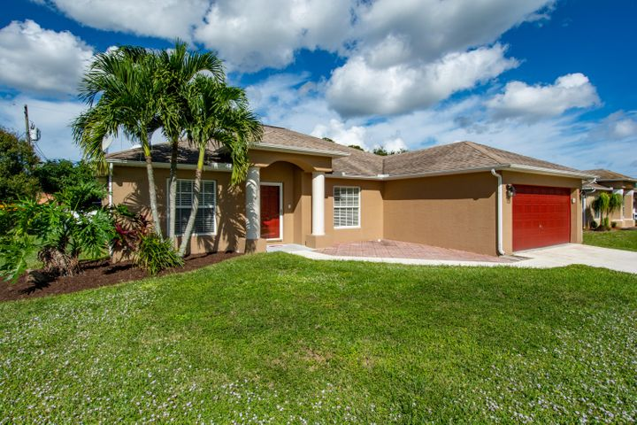 Priced with upgrades in mind, this commuter's dream will not last long! Tucked between the Turnpike and I95(less than a mile) this 4/2 pool home on quiet street off Becker awaits your personal touch. Just minutes from every amenity. Separate formal living/dining at entry, and a large eat-in kitchen has Corian counter. Master complete with his and her closets and sinks in master bath with separate shower/soaker tub. Split plan offers 3 generous bedrooms.  AC and water heater replaced 2018. Pool is enclosed and  there's a small fire pit/deck beyond.  Seller requests all offers be gathered for consideration by Sunday, 12/6/2020 at 5 PM.