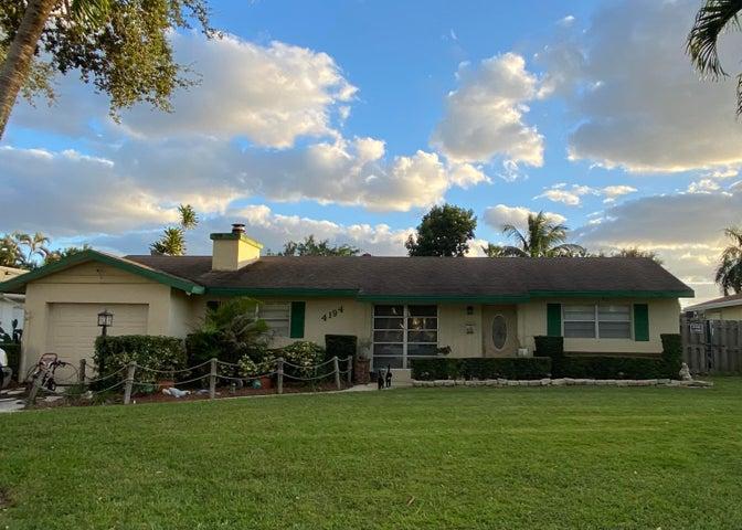 4194 Honeysuckle Avenue, Palm Beach Gardens, FL 33410