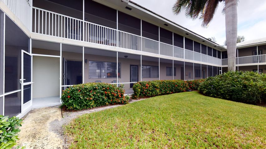 Location, location, location! 2 Bedrooms, 2 Baths, first floor condo in a small but friendly building with only 14 units. 1/2 mile walking to Atlantic Avenue for shopping, dining, & nightlife, less than a mile away from pristine beaches.
