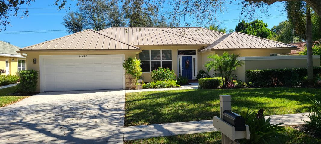 Shores gem located on .25 acre lush landscaped lot. This 3 bedroom 2 bathroom 2 car garage with a huge patio includes a new metal roof. This clean and well maintained home is available for sale.