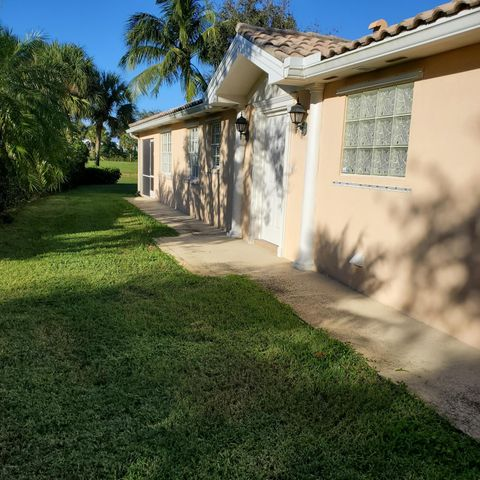 Nicely maintained & ready for a tenant.  This Divosta capri has a split floor plan with, tiled living area, 2 car attached garage, covered & screened lanai with lake view.Walking distance to community pool, fitness center & tennis courts.   The Isles is conveniently located to I-95, turnpike, shopping, dinning & beachees.