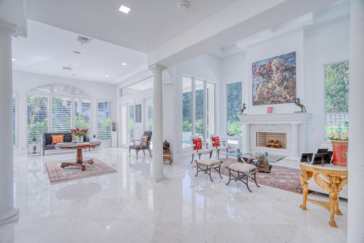 Truly magnificent masterpiece in Highland Beach's exclusive enclave, Ocean Grande Place.