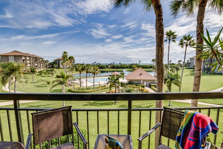 Direct Ocean, pool and lake views! Completely remodeled unit.  Balcony and IMPACT sliders installed and assessment PAID BY SELLER. Kitchen features stainless steel appliances and granite counter tops, both bathrooms are also beautifully renovated. 2016 Lenox AC, Plantation shutters, Custom built ins in the laundry add great storage. New washer and dryer. Popcorn has been removed. Crown molding. New large wall-mounted flat TV, furnishings available. This unit can also be available turnkey! Find your MOVE IN ready place in paradise today! Just steps to the beach and minutes to shopping and dining, it won't last!For additional association information, www.thebluffsoceansouth.com.