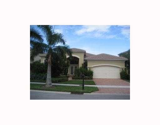 Mirasol with our new Country Club has it all, amazing golf, tennis and more. Three bedroom, three and a half bath plus office. Furnished with the finest decorations. Featuring an open kitchen floor plan with upgraded cabinets, appliances and granite countertops throughout. Heated pool with spa and Aqualink system. Crown moldings throughout the whole house. Central vacuum system for easy cleaning. FULL GOLF MEMBERSHIP included with lease. Rental is for a minimum of 6 months, call if less.