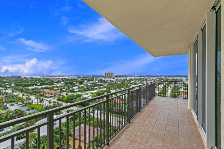 Sensational oceanfront luxury resort living with all of the amenities without the high price! 2 bedroom, 2 bath, 1,045 s.f. oceanfront suite with sunny Southwestern views. Large wrap-around terrace for sunbathing or for enjoying an intimate dinner and drinks under the stars. Wonderful vacation retreat, relaxing & rejuvenating getaway or investment property on beautiful and unique Singer Island. Eligible for the Marriott's optional owner's rental program. Featuring 239 all-suite resort units and 66 residential condominiums, the resort includes 4,000 square feet of meeting space, an 8,500-square foot spa, and all of the amenities and services one would expect from a world-class facility. Butler Service, valet attendants, and a full-time concierge will enrich guest experiences and activities, including coordination of private events, theater tickets, dinner reservations, and travel arrangements. Experience the essence of elegance in one or two bedroom resort units ranging from 800 square feet to just over 2,100 square feet of living space. Decorated with dark wood tones, stainless steel kitchen appliances, and marble baths, the resort offers a luxurious contemporary modern edge. Enjoy majestic views of the Atlantic Ocean or Intracoastal Waterways from the expansive terraces in each suite. Dining options include an alfresco ambiance at the ocean side eatery, the convenience of room service, or special events catered within the stunning entertainment veranda. Even a temperature-controlled wine room is available to store private wine collections. The white sands of Singer Island provide the ultimate place to relax. Attentive pool and beach side attendants provide everything from plush beach towels and relaxing lounge chairs to tempting frozen libations. Outdoor private cabanas are the ideal place to enjoy a casual poolside lunch.  Nestled between the celebrated Worth Avenue, world class Palm Beach Gardens and just a short drive to Jupiter golf courses and Wellington's equine country, the Resort at Singer Island is just minutes away from Palm Beach's finest dining, entertainment and shopping and the Palm Beach International Airport.