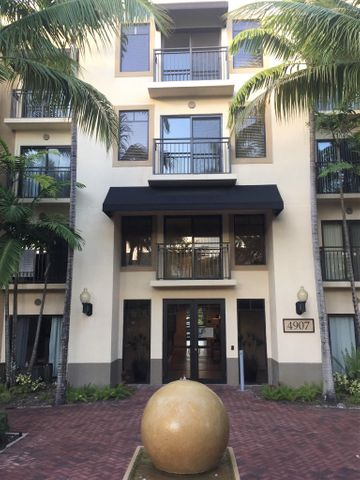 PGA Blvd Seasonal rental available January 1 through April 30, 2021. 90 day minimum lease. A Longer lease is possible. Fully turnkey and elegantly furnished condominium in charming and walkable Residences at Midtown. Shops, dining, and Publix right outside your door. 5 minutes from PGA National Resort and 10 minutes to the beautiful beaches of northern Palm Beach County. ALL UTILITIES, internet, cable, and cleaning service are included in the rental rate of $3500.  Lease is paid in full prior to move in. Application approval required by Midtown Condo. Owner pays common area deposit.