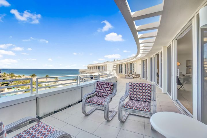 A rare offering... Spectacular ocean views from PH 10 at the iconic Sun & Surf, with 2,433 sq ft. of living space and a huge 558 sq.ft. terrace. 2 bedrooms plus den, and 3 1/2 onyx baths with stunning improvements throughout. Sun & Surf is a full service building offering every amenity, with renovated common spaces, valet parking for 2 cars ,and 24 hour security. A short distance to to upscale dining , shopping and The Breaker's Hotel.