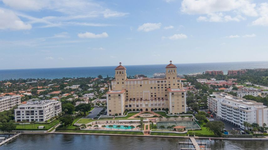 Location, Location, Location! This wonderful 2BR/2BA condo on a high floor is centrally located in the prestigious PB Biltmore and offers panoramic views of the Ocean, the Intracoastal, Palm Beach Island and West Palm Beach. Completely updated with over 10Ft ceilings height, marble floors throughout, laundry room with wet sink. Master Bedroom has a very large closet plus a storage space. Full amenity Building with an Olympic swimming pool and jaccuzi, har-tru tennis courts, boat docks, gym, 24-hour doorman and security and a private beachfront club with dining. Short distance to restaurants, shopping, beach. The Biltmore is a pet friendly building!
