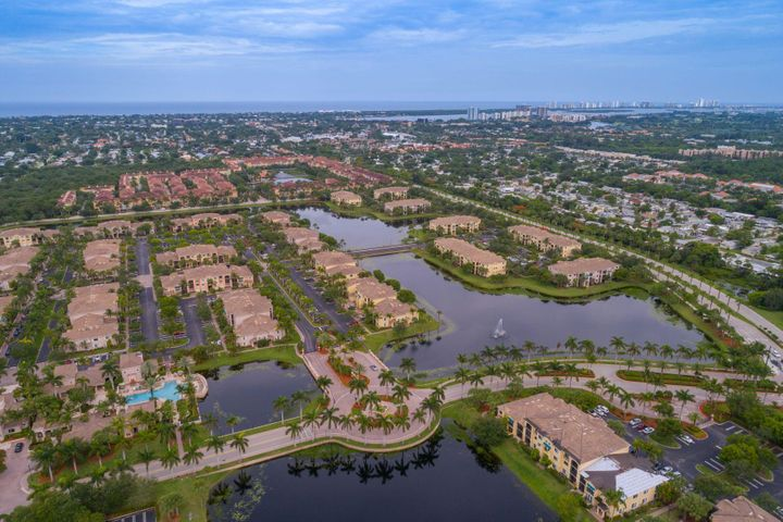 Fully furnished Milan Model with Serene Lakeviews and offering 2 Master Bedrooms. This unit is very nicely upgraded and appointed and extremely well maintained. Screened in balcony for daily breezes. This The Gardens Mall is within walking distance as well as dining and shopping, Trader Joe's and more. Amenities include Olympic size swimming pool, gym and tennis courts. San Matera is conveniently located across from the Gardens Mall and close to Downtown, Legacy, great shopping, the beach, golf, Scripps FAU, Movie Theatres and so much more. Bring Ideas to make this lovely Milan model your new Home. Condo Association requires credit score of 650 or above. Credit/Background Report on Tenant must be performed by Listing Office at a cost of $50.00 per each person over 18. & JLR Processing Fee of $95.00 required. Refundable Association deposit $500. Tenant Application attached under documents as well as site plan and Guidelines to help