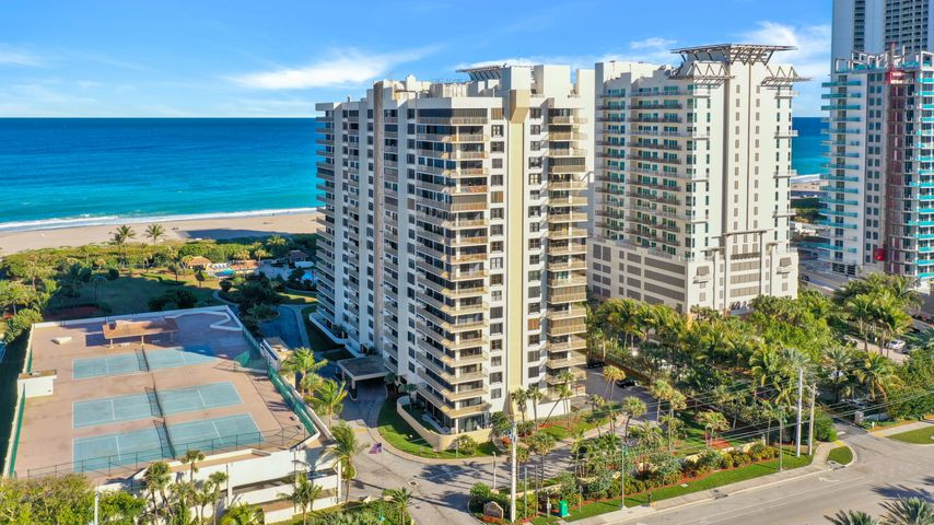 Welcome to Ocean Tree where you will truly live the Florida life and enjoy the Ocean views all around! If you want beach access, you got it! Enjoy having 2 beach access gates that are secured, 2 community pools, showers to rinse off the sand, 3 grills to enjoying family barbeques, 2 shuffle boards, fitness center, 24 hour manager, 3 tennis courts, 2 storage spaces, bike rack, banquet room, hot tub and more! Not to mention that you get beach service where you can feel the luxury of being served while relaxing. AC is around 2009, fast internet and cable is included, newer water heather, electrical box replaced 6 years ago, hurricane windows installed in 2008, brand new laminate flooring, freshly painted. Priced to sell!