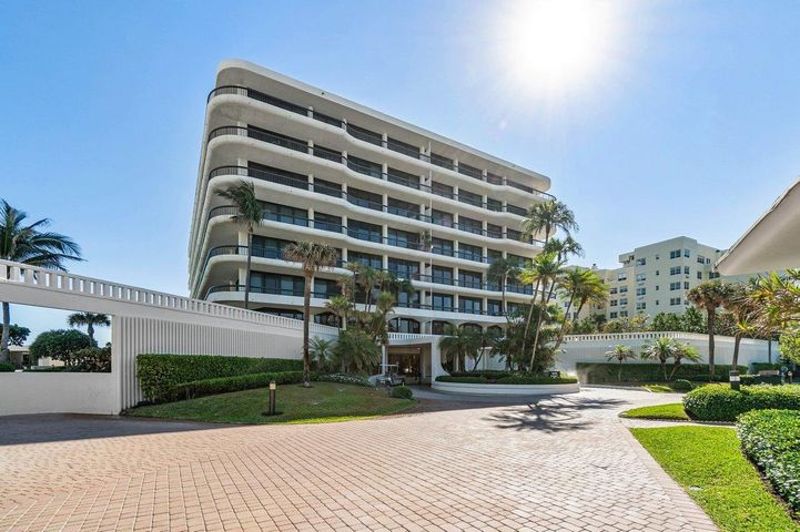 Beautifully renovated, fully furnished corner home with an incredible large wrap around balcony. Custom tile and hardwood floors. Flat ceilings and crown moldings. Large gracious foyer.  Light and bright, you will enjoy ocean and Intracoastal views in this southwest facing luxury home. Hurricane impact sliding glass doors are all of the way around. A resort-like community sitting on over 10 acres, Beach Point features 800' of sandy beach, a tropical pool/patio area, 3 Har Tru tennis courts, and a fitness center. Ocean to the East and the intracoastal waterway to the West.  A pet friendly building, allowing up to two dogs with no weight limit, with 24 hour door service and garage parking. You deserve Palm Beach and you just can't beat Beach Point!
