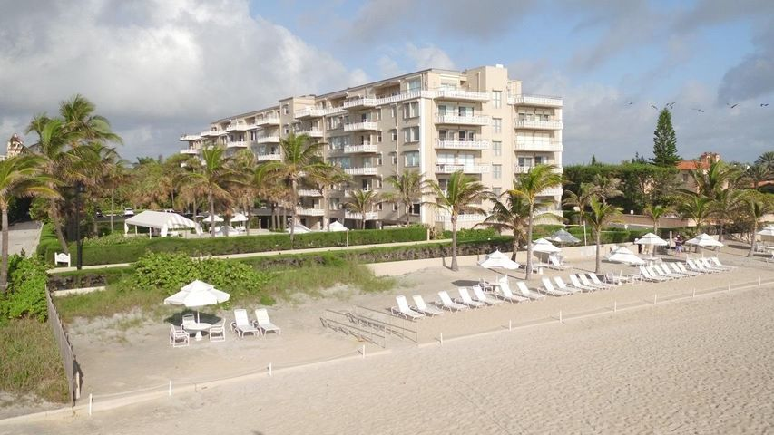 Fabulous Oceanfron Building with exclusive beachfront. Ocean Towers Condominiums, in the heart of Palm Beach, offers oneof the best ocean front locations in Florida. Ocean Towers has a beautiful heated pool and tropical beach area, 24 hour doorman, and is conveniently locatednear restaurants, shopping, banks, places of worship, museums, and entertainment. Ocean Towers is one of only three condominiums in Palm Beach with our own private beach.