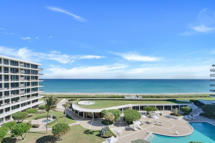 A wonderful large three bedroom, three bath fifth floor condominium residence is now available for purchase.Amazing Ocean and Lake views with both East and West outdoor terraces.Tastefully designed in move-in condition including a lovely poolside cabana.