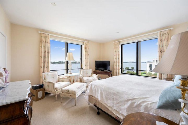 Come live in the luxurious and historic Palm Beach Biltmore. Built in 1925 as the Alba Hotel and later renamed the Palm Beach Biltmore, this 2 bedroom, 2 bath unit boast of exquisite intercoastal views. The Palm Beach Biltmore offers world class amenities such as 24 hour security and concierge valet parking,  2 Har-Tru tennis courts, a tennis pro on site, a spa and work-out facilities, swimming pool, access to the Lake Trail and boat docks, a private beachfront club with dining and a private chef and beach access. Come own a piece of Palm Beach history and live where others only dream of vacationing!