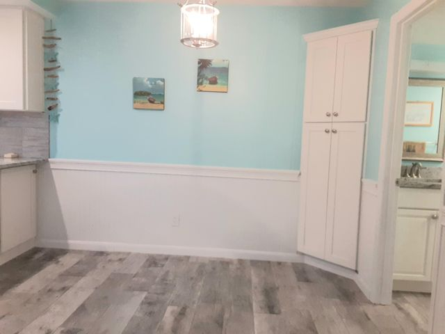 Beautiful plank tile in DR