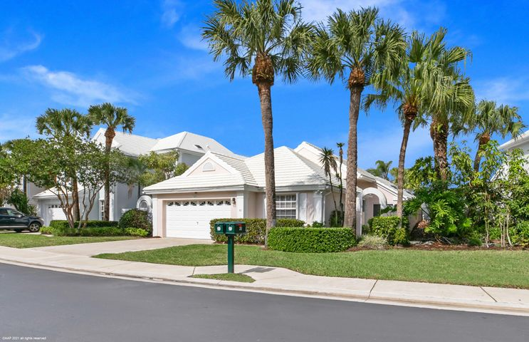 This is truly one of a kind, TOTALLY RENOVATED ALL NEW HIGH END FURNISHINGS 3 bedroom 2 bath, 2 car garage all on one level overlooking the beautiful lake from your large screened in patio.  The views of the lake are from Living Room, Dining Room, Master Bedroom. Take the time to look at the pictures they will answer all your questions.   This home offers you everything you could want and more. There is nothing like this for a long Seasonal Rental.  You are only minutes away from PGA Blvd where you can dine in or out with a choice of over 150 restaurants from West to East.  This home has Accordion Hurricane Shutters and Hurricane Impact Glass too. Call to make your appointment now, YOU WILL NOT BE DISAPPOINTED.