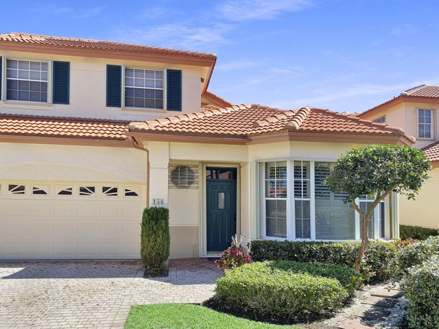 Lovely two story townhome on a quiet cul-de-sac with master bedroom on first floor.  This is nestled in a quiet cul-de-sac.  There is a beautiful community pool.  Nice fenced in back yard gives a quiet place to relax.  Enjoy the screened patio.  Two bedrooms and a loft upstairs.  Home is tastefully furnished.  Only available July, August and September. 2 car garage.