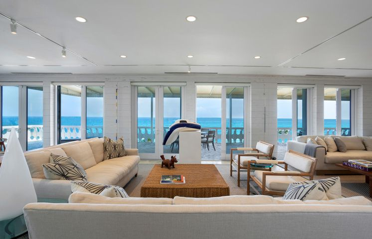 Stunning Penthouse apartment in the coolest mid-century building in Palm Beach. PH-C offers 3,852 total sq. ft. which includes a 1,624 SF terrace overlooking the Atlantic Ocean. The apartment consists of a grand room with high ceilings and French doors opening onto the terrace, a spacious master also with doors opening onto terrace, walk-in closet and exercise room, an entry foyer and powder room and a kitchen which opens onto the main room. The style and sensibility of the apartment will appeal to a sophisticated buyer similar to the current owners who have an extensive art collection and the previous owner who was a world-class fashion designer. The 300 Building itself has been dramatically improved over the last ten years - the choice of designs and furnishings in keeping with the Modernist architecture. This is an exceptional oceanfront apartment which rarely comes onto the market.   DISCLAIMER: Information published or otherwise provided by the listing company and its representatives including but not limited to prices, measurements, square footages, lot sizes, calculations and statistics are deemed reliable but are not guaranteed and are subject to errors, omissions or changes without notice. All such information should be independently verified by any prospective purchaser or seller. Parties should perform their own due diligence to verify such information prior to a sale or listing. Listing company expressly disclaims any warranty or representation regarding such information. Prices published are either list price, sold price, and/or last asking price. The listing company participates in the Multiple Listing Service and IDX. The properties published as listed and sold are not necessarily exclusive to listing company and may be listed or have sold with other members of the Multiple Listing Service. Transactions where listing company represented both buyers and sellers are calculated as two sales. The listing company's marketplace is all of the following: Vero Beach, Town of Orchid, Indian River Shores, Town of Palm Beach, West Palm Beach, Manalapan Beach, Point Manalapan, Hypoluxo Island, Ocean Ridge, Gulf Stream, Delray Beach, Highland Beach, Boca Raton, East Deerfield Beach, Hillsboro Beach, Hillsboro Shores, East Pompano Beach, Lighthouse Point, Sea Ranch Lakes and Fort Lauderdale. Cooperating brokers are advised that in the event of a Buyer default, no commission will be paid to a cooperating Broker on the Deposits retained by the Seller. No commissions are paid to any cooperating broker until title passes or upon actual commencement of a lease. Some affiliations may not be applicable to certain geographic areas. If your property is currently listed with another broker, please disregard any solicitation for services. Copyright 2021 by the listing company. All Rights Reserved.