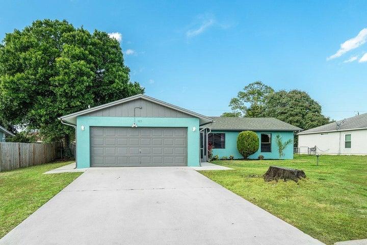 925 SW Dalton Avenue, Port Saint Lucie, FL 34953