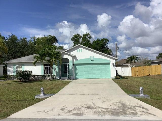 1838 SE Genaro Terrace SE, Port Saint Lucie, FL 34953