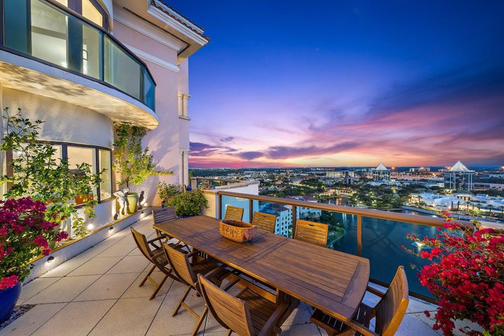 Enjoy 1800 SF balcony in the sky! City lights + walk to Everything!!