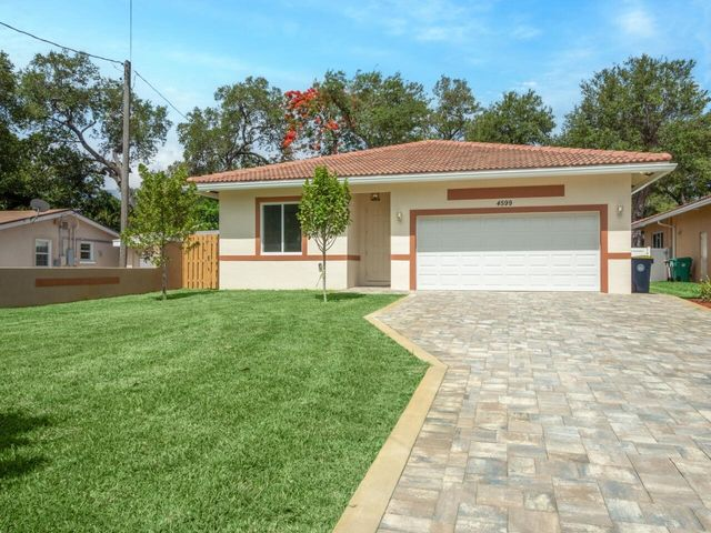 Beautiful and Trendy elevations with pavers. Lots of room for all your cars.
