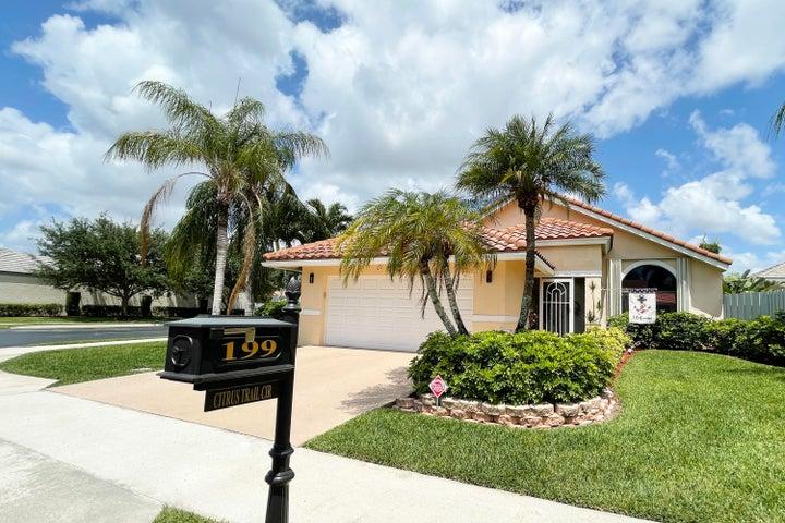 199 Citrus Trail Circle, Boynton Beach, FL 33436