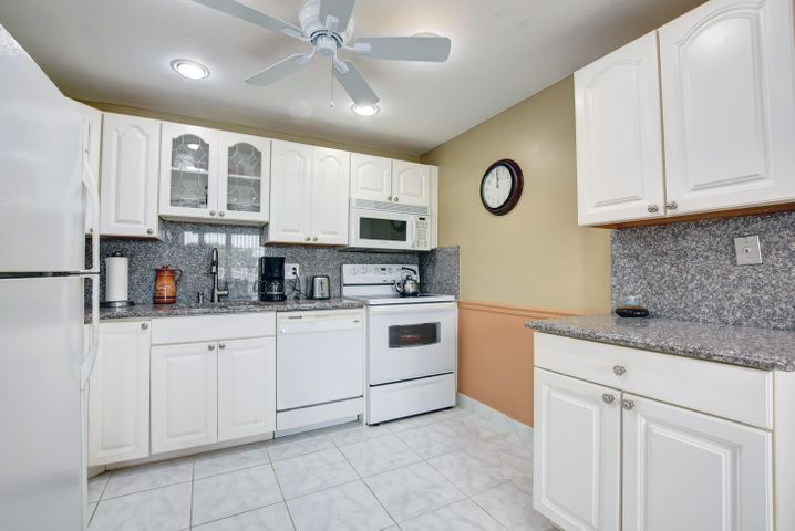 Nicely updated and well maintained spacious condo in luxury section of Century Village.