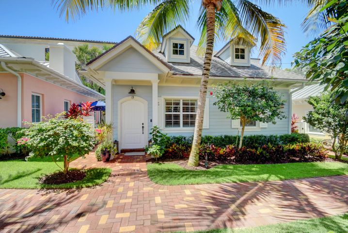 Key west style oceanfront cottage