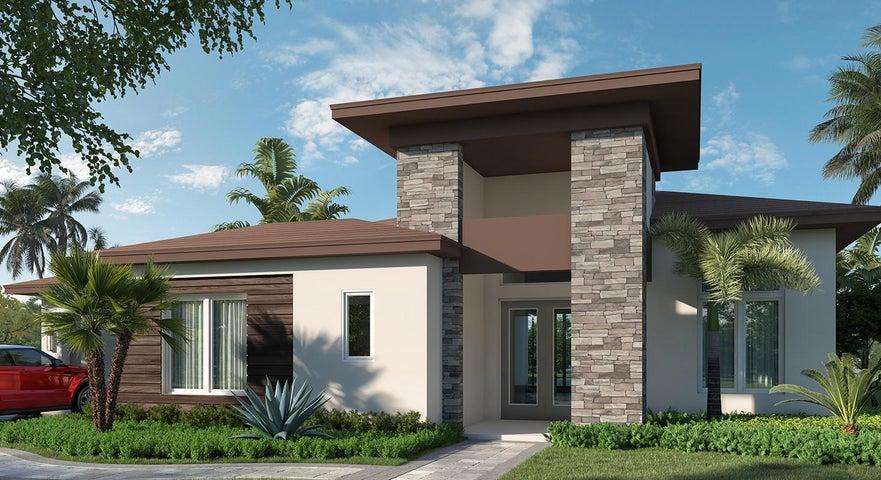 Antigua Model * Modern Elevation