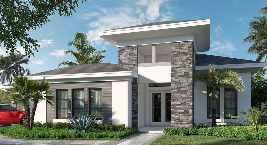 Antigua Model * Contemporary Elevation
