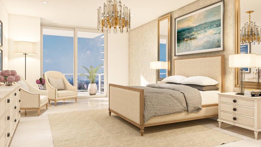 *Artist Rendering of D Floorplan, very similar to our Sky Suite Floorplan