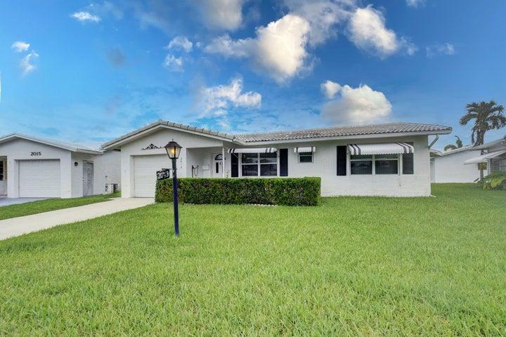 2013 Vastine Drive, Boynton Beach, FL 33426