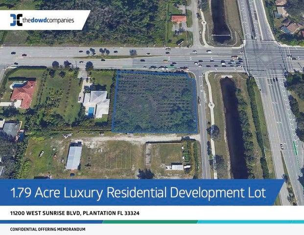 11200 W Sunrise Boulevard, Plantation, FL 33323