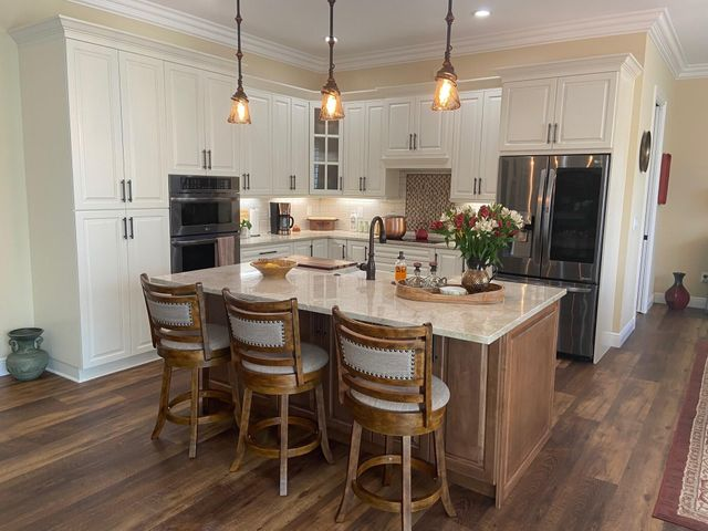 New Design Open Concept Kitchen ALL High End Cabinets Appliances Fixtures and Finishes