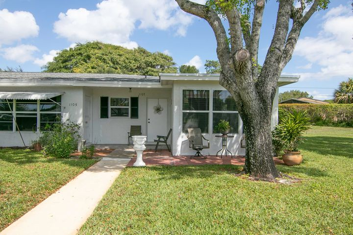 1107 N Oakridge Circle, D, Lake Worth, FL 33462