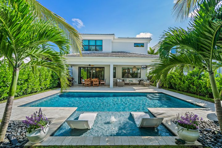 Single-Family CBS pool home in gated community Artistry