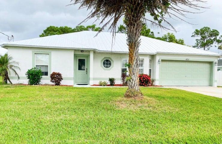 431 SE Faith Terrace, Port Saint Lucie, FL 34953
