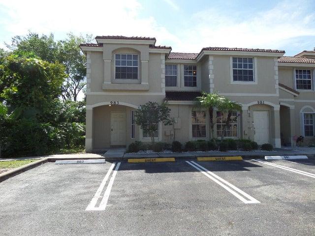 983 Summit Lake Drive, West Palm Beach, FL 33406