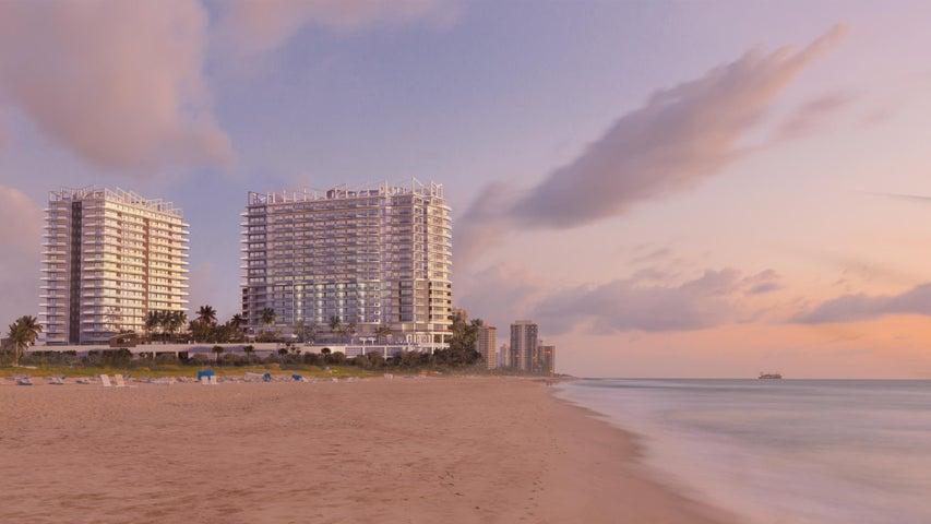 Property for sale at 3100 N Ocean Drive Singer Island FL 33404 in AMRIT OCEAN RESORT & RESIDENCES