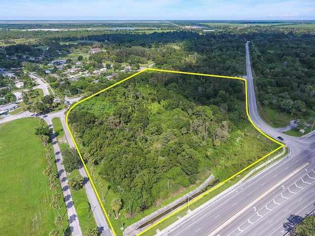 9.00 acres on the busy SW Warfield Boulevard. Owner financing terms negotiable.