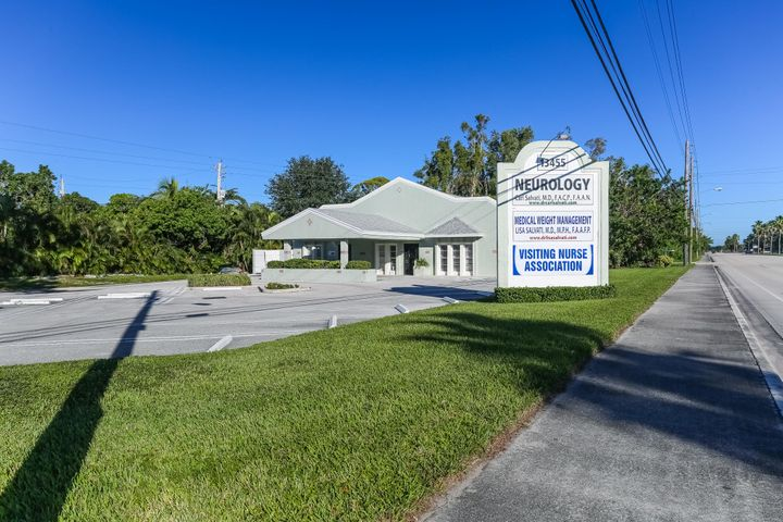 Free standing Medical Office Center. Consisting of two suites, Suite 1 is 2400 sq. ft and Suite 2 is 1020 sq. ft. Suite 1 will become available upon the sale of the property. Suite 2 is currently leased to Visiting Nurses for $2500 per month plus sales tax. The lease  expires August 14, 2019. Zoning for this property is CS/ Commercial Specialized District. Suite 1 consists of 11 offices, waiting and clerical rooms and three restrooms one is handicapped. This building can be used for medical purposes, veterinarian office, walk-in clinics,dentist, private practice, attorneys, architects, accounting firms plus many additional uses. The seller just completed a new roof November 2017. This sale will include an additional adjoining lot located to the north of this property for additional parking