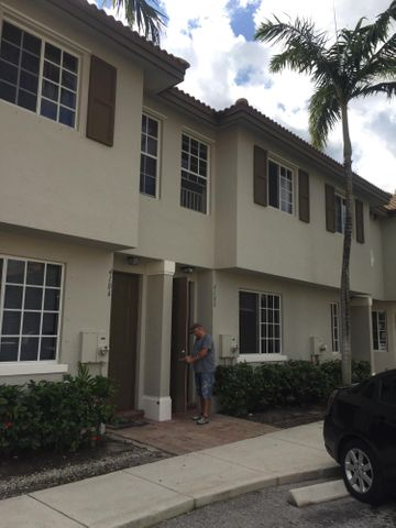 12 Townhomes for sale as a Package, Very Nice Concrete Block Townhomes built in 2007 located in a very desirable Central Palm Beach County location right on the Palm Beach Gardens & Riviera Beach line.  All tenants are on annual leases and tenants pay all utilities.   Units are easy to manage given newer construction and the Homeowner Association community property manager's office is located in the clubhouse.All units are on the same street, property address include:4102,4104,4106,4138,4140,4142,4148,4152,4166,4168,4200,4204 Napoli Lake Drive Riviera Beach FL  Please see attachments for 3 Videos, Rent Roll/Financial Summary.  Please call or email listing Broker for showing appointments. All information is subject to change and withdrawal, Buyer to independently verify all information